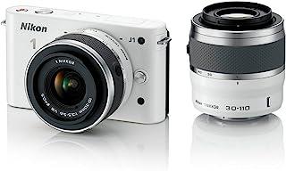 Nikon 1 J1 小型系统摄像机 - 家长 ASIN (10mm 镜头套件) NIKON 1 J1