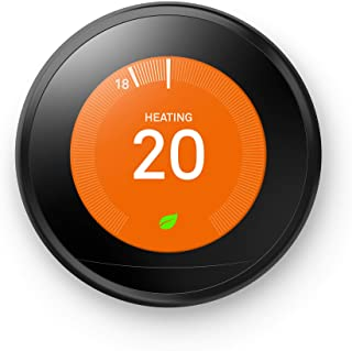 Google 谷歌 Nest Learning Thermostat 智能温控器,3代,黑色