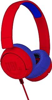 JBL JR 300 带*声音技术的儿童入耳式耳机 红色