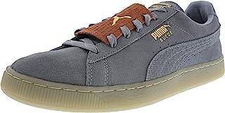 PUMA 男士 Fierce Core 单色及踝皮革时尚运动鞋
