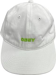 Obey 男式棒球扣带爸爸帽