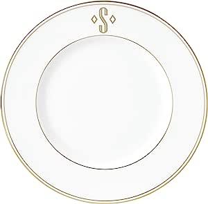 Lenox 联邦金块交织字母餐具 字母 S 870064