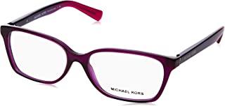 Michael Kors 迈克·科尔斯 眼镜 MK4039 INDIA 3222 透明紫色,54/15/135