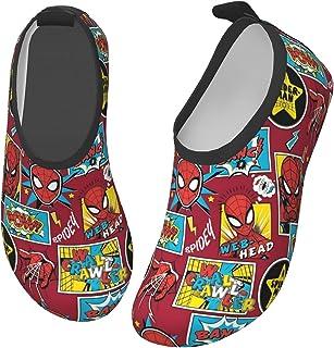 Cool Superheros 儿童涉水鞋轻质防滑水肤赤脚运动游泳沙滩泳池鞋男孩女孩