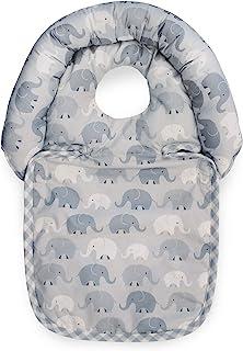 Boppy Noggin Nest 婴儿头枕 Gray Elephant Plaid