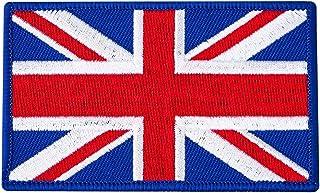 Blitz 中性款英国国旗刺绣徽章,多色,均码