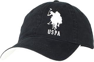 U.S. POLO ASSN . 男式大号纯马可调节帽子