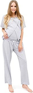 * 纯棉孕妇睡衣套装,适合哺乳和*送货