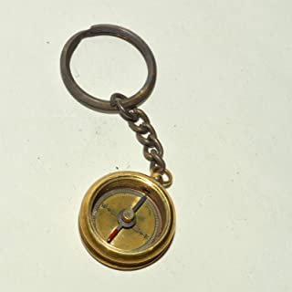 Hello Nauticals Store 1918 KELVIN & HUGHES 伦敦黄铜指南针古董指南针