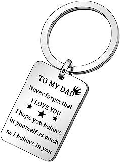 Never Forget That, I Love You,女儿儿子父亲节礼物,男士钥匙链