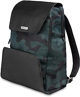 Moleskine 双肩背包 可收纳15英寸手提电脑 商务背包 ET83BK Nomad系列 背包 迷彩绿 レギュラー