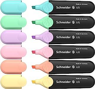 Schneider 施耐德 Job 150 支粉笔(绿松石、薄荷、淡紫色、玫瑰、桃子、香草)6 支装