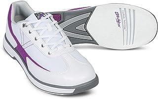 KR Strikeforce Flex 白色/葡萄色女士保龄球鞋