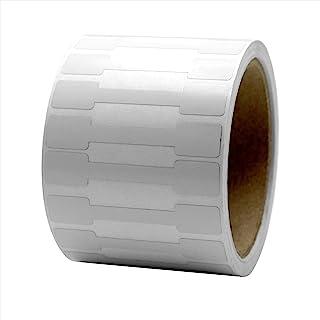 哑光白色防篡改证据标签,2.75 英寸 x 0.5 英寸,1000 支