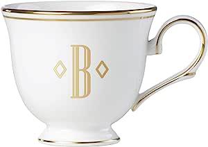 Lenox 联邦金块交织字母餐具 字母 B 872905