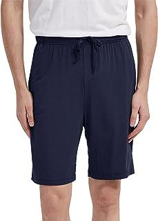 AWLE 男士针织*短裤,轻质运动休闲连衣裙休闲短裤睡衣裤带口袋, L-4XL 多色