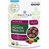 Navitas Naturals Snacks - Organic - Power - Cacao Goji - 8 o…