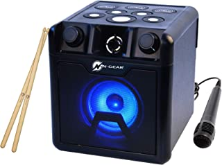 N-Gear 鼓座 420 电池驱动音箱 带鼓垫 带 LED 闪电和蓝牙