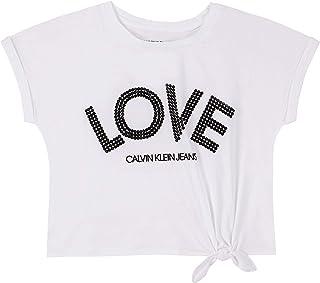 Calvin Klein 女孩款系带T恤
