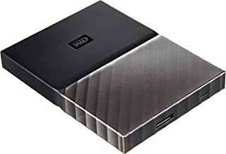 Western Digital 西部数据 My Passport Ultra 便携式硬盘,黑色/灰色,1 TB