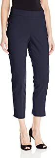 Briggs New York 女式超弹力千年修身套穿及踝裤 *蓝 14