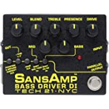 Tech 21 SansAmp 低音驱动器 DI 效果踏板