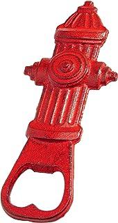 Design Toscano SP3210 消防水铸铁开瓶器,5 英寸,红色