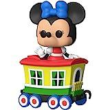 Funko POP!Disney:Casey Jr Train Ride - Caboose Car中的米妮,亚马逊*销…
