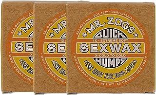 SEXWAX 萨芬 用 快速打蜡 1X 黄色 标签 3个装