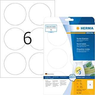 HERMA 标签 A4 直径85毫米 圆形 Papier, ablösbar, 150 St.
