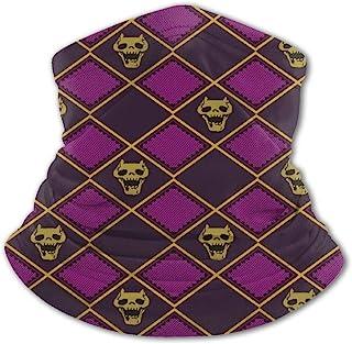 儿童头巾颈部绑腿围巾*防紫外线面罩罩男孩寒冷天气巴拉克拉瓦帽适用于户外运动