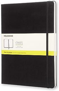 Moleskine 黑色硬面空白笔记本 (大号)