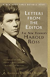 Letters from the Editor: The New Yorker's Harold Ross (Modern Library Classics) (English Edition)