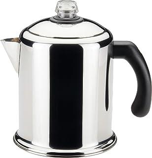Faberware经典不锈钢咖啡壶,8杯量