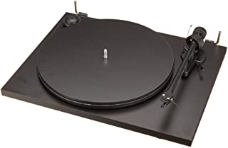 Pro-Ject Essential II 音频播放器(预装 Ortofon 拾音器 OM5e)黑色
