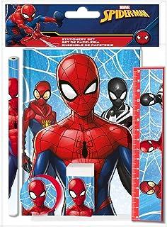 Spider-Man 蜘蛛侠 KL84016 文具套装 多色
