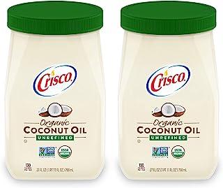 Crisco 未精制*椰子油,27 液体盎司(2 瓶装)