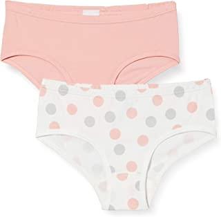 Sanetta 女童低腰内裤 Im Doppelpack 米色内裤