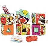 B.toys 比乐 ABC字母幻彩软积木 布艺 感官训练 早教玩具 6个月+ BX1661Z