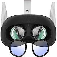 Esimen Oculus Quest 2 眼镜配件蓝色滤光镜框架,适用于Oculus Quest 2、Rift S 或…