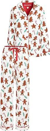 PJ Salvage 女式法兰绒睡衣套装