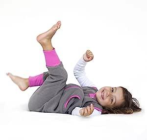 Baby Deedee 婴儿睡袋 带脚 岩石灰 18 Months - 2T