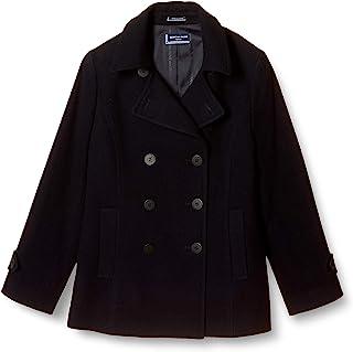 [橄榄色学院] 橄榄色学院 简约风大衣[炭灰色] 1J90006-08 女孩