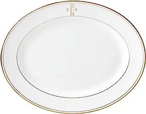 Lenox 联邦金块交织字母餐具 字母 E 874124