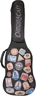ChromaCast World Tour Graphic Two Pocket Padded Guitar Gig Bag Electric Guitar
