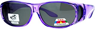 女式偏光贴合眼镜水钻太阳镜椭圆形长方形