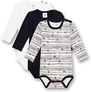 Sanetta 男婴连体衣,多件装,破碎白色,幼儿内衣套装