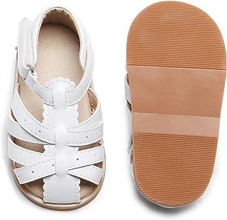 THEE BRON 婴儿幼儿男孩女孩中性凉鞋柔软正装鞋