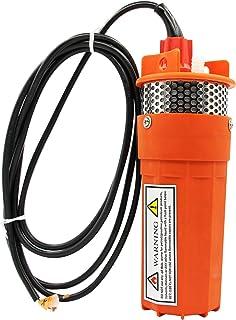 井水泵,12 伏 / 24 伏直流,太阳能水泵,带太阳能电池,替代能源,70 米