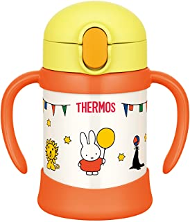 THERMOS 膳魔师 儿童吸管水杯 FHV-250B 浅黄色 适合9个月以上的幼童